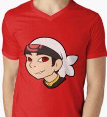 Pokemon Trainer Ruby Bust Men's V-Neck T-Shirt