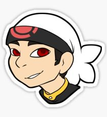 Pokemon Trainer Ruby Bust Sticker