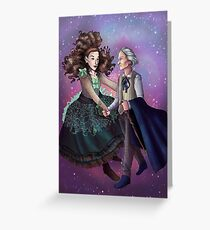 First Doctor and Idris Greeting Card