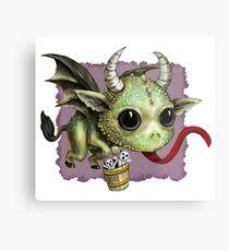Krampus Dragon Metal Print