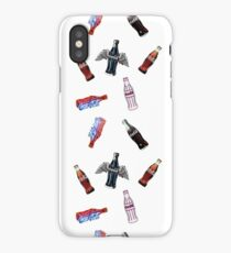 Coca-Cola Bottles Design iPhone Case