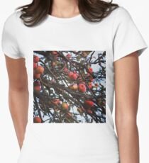 Autumnal apple tree Women's Fitted T-Shirt