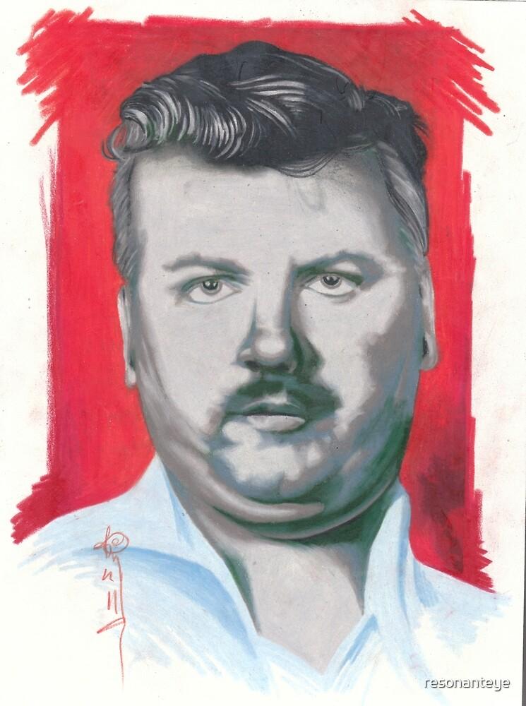 portrait of john wayne gacy. by resonanteye