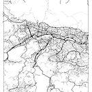 Caracas Map Minimal by HubertRoguski
