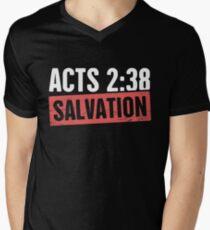 Salvation | Christian Bible Verse Men's V-Neck T-Shirt