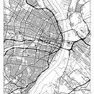 St Louis Map Minimal by HubertRoguski