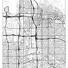 Salt Lake City Map Minimal by HubertRoguski