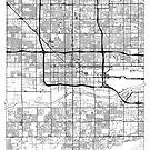 Phoenix Map Minimal by HubertRoguski