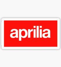 Aprilia Supreme DISTRESSED Sticker