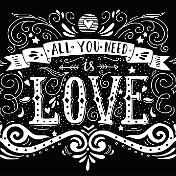 All you need is love by BlueInkStudio