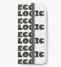 Typography Word Eco Logic  iPhone Wallet/Case/Skin