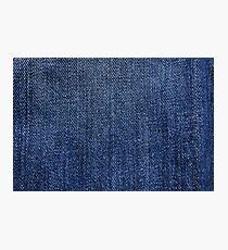 Jeans pattern Photographic Print