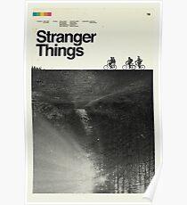 Polaroid Stranger Things Poster