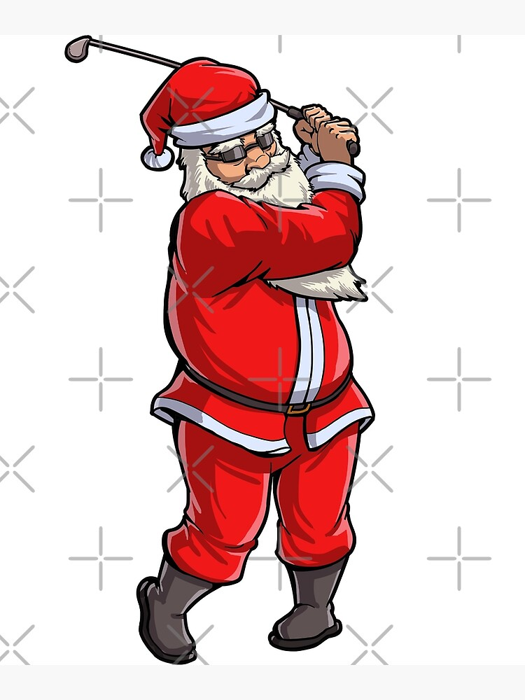 Clipart santa golfing, Clipart santa golfing Transparent FREE for download  on WebStockReview 2020