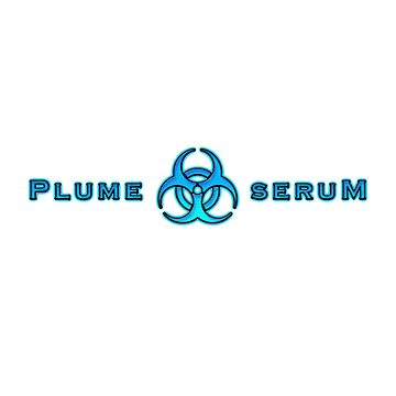 Plume Serum Logo by GetRealClothing