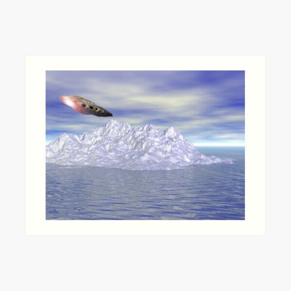 Ice Island Resort Art Print