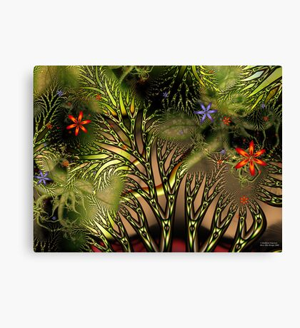 Tangled Woods Canvas Print
