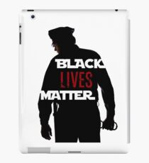 Black Lives Matter Movement Protest Art Apparel Quote iPad Case/Skin
