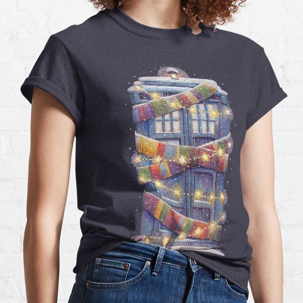 Christmas Police Box Classic T-Shirt