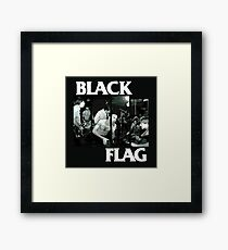 Black Flag Framed Print