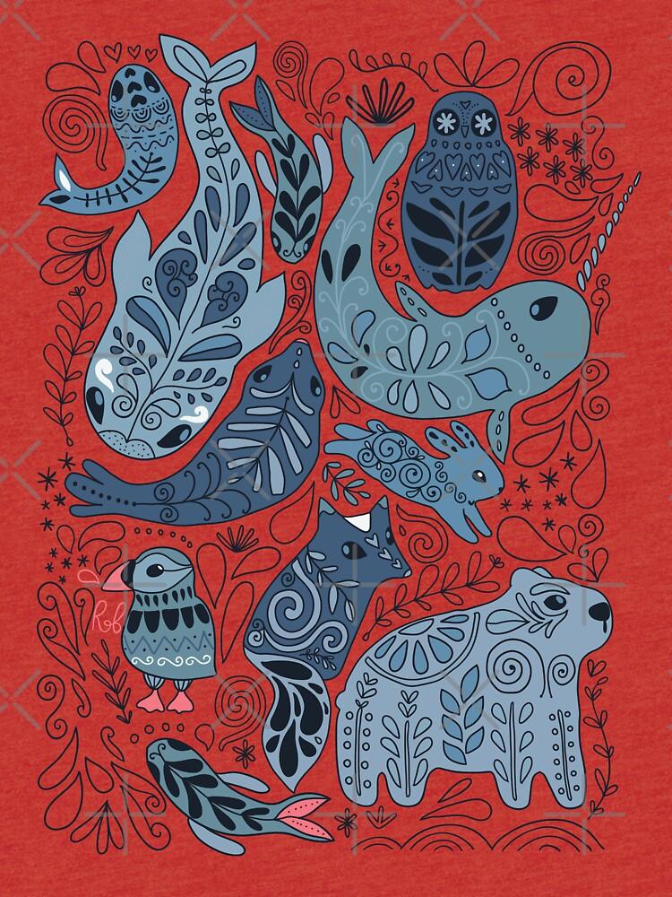 Arktische Tiere von kostolom3000