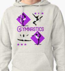 1ebad23e5c Gymnastics Fun Super Cute Gymnasts Graphic Pullover Hoodie