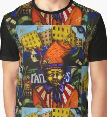 The Mad Hatter Hits Harlem Graphic T-Shirt