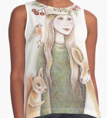 forest friends Contrast Tank