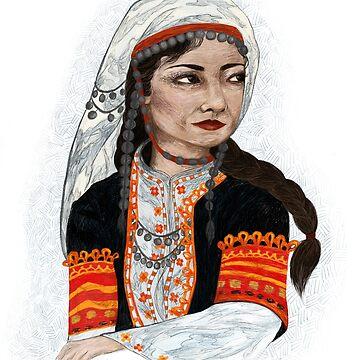Woman by Wildflower-Art