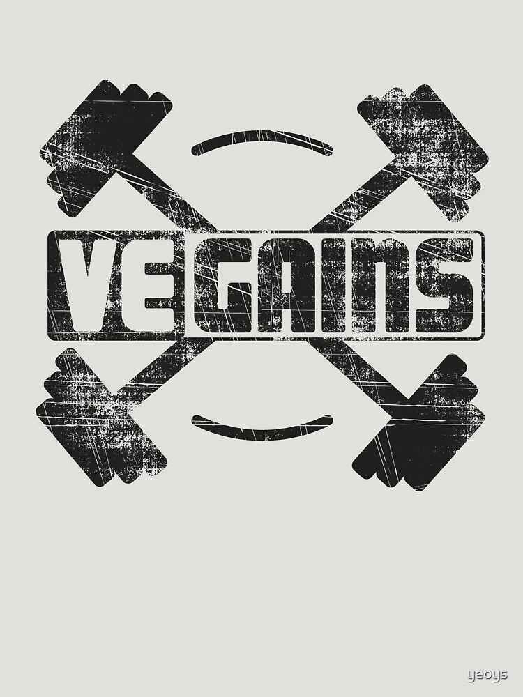 Vegains Vegan Muscle Power - Amazing Vegan Workout Gift von yeoys