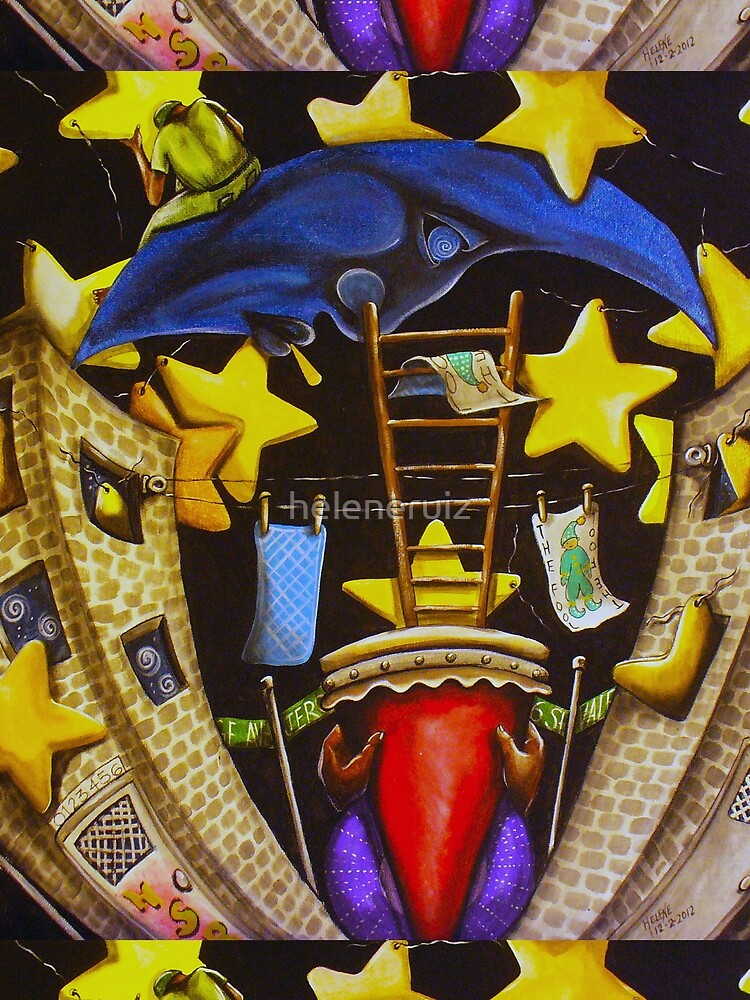 A Starry Night in The Bronx by heleneruiz
