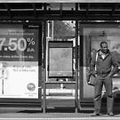 Tram Stop Blues by Frank Yuwono