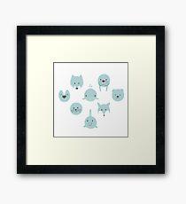 Arctic animals  Framed Print