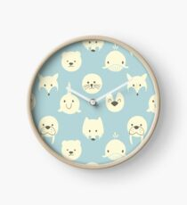 Arctic animals  Clock