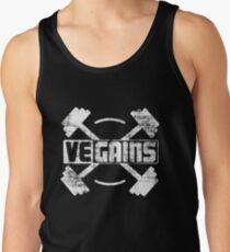Vegains Vegan Muscle Power - Amazing Vegan Workout Gift Tank Top