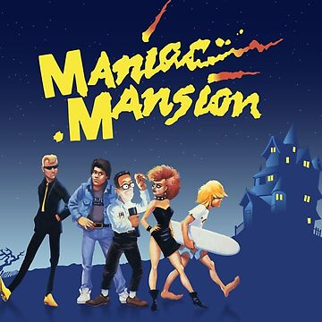 Maniac Mansion #09 Game Cover by themasrix