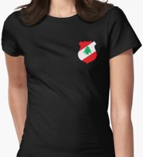 Lebanon Women's Fitted T-Shirt