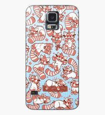 Red Panda all over pattern spread Case/Skin for Samsung Galaxy