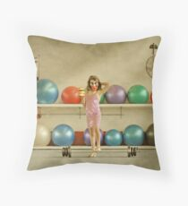 Three Iced Donuts Throw Pillow