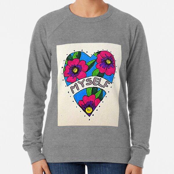 I love myself- self love and acceptance  Lightweight Sweatshirt