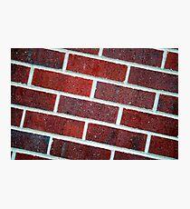 Bricks Photographic Print
