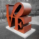 Vintage Love Sculpture - Crystal Bridges Museum of Art 1x1 by Gregory Ballos