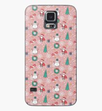 New Year Christmas winter holidays  Case/Skin for Samsung Galaxy
