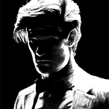 Matt Smith Silhouette by dmbarnham
