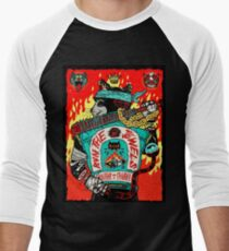 Run The Jewels Panther Like A Panther RTJ Men's Baseball ¾ T-Shirt