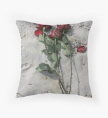 THROWN AWAY... Throw Pillow