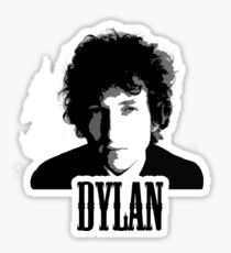 Bob Dylan by Sevalgo Sticker