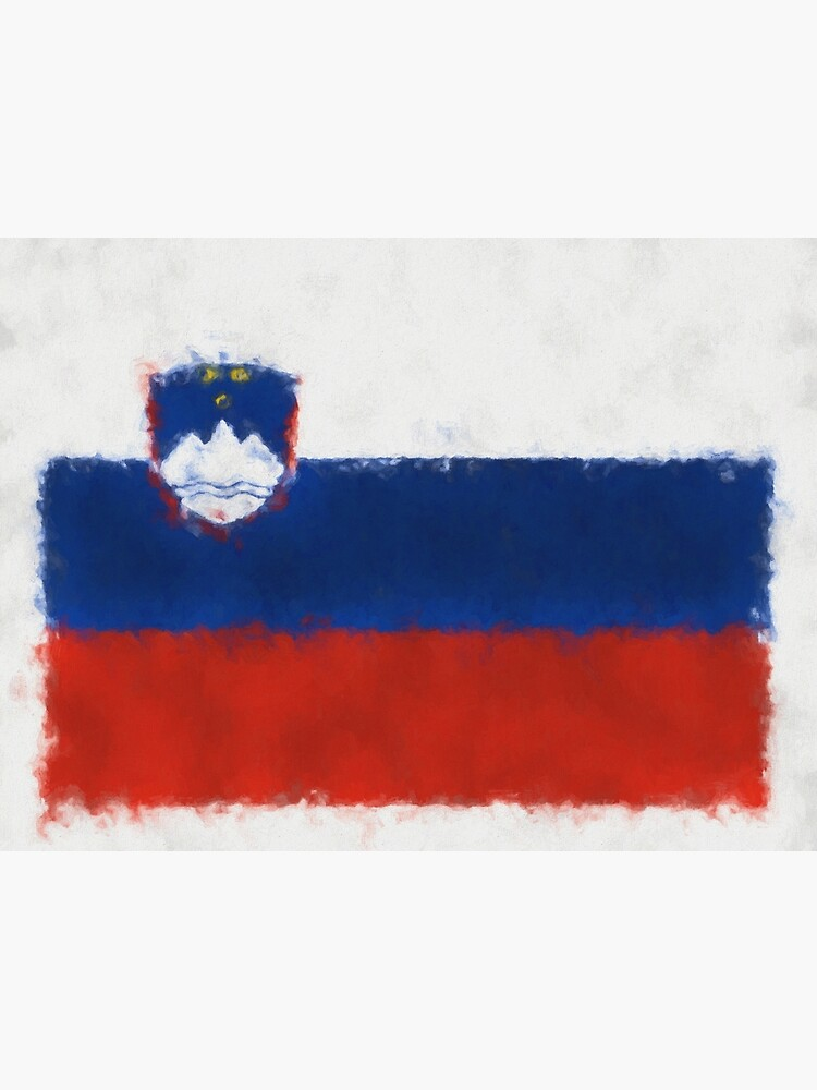 Slovenia Flag Reworked No. 66, Series 5 by 8th-and-f