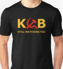 KGB Still Watching You Unisex T-Shirt