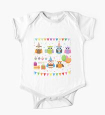 Birthday Party Owls Kids Clothes